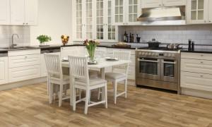 Пол на кухне: какому материалу отдать предпочтение?