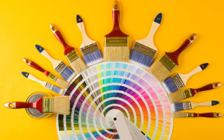 Выбор качественных и создающих комфорт красок