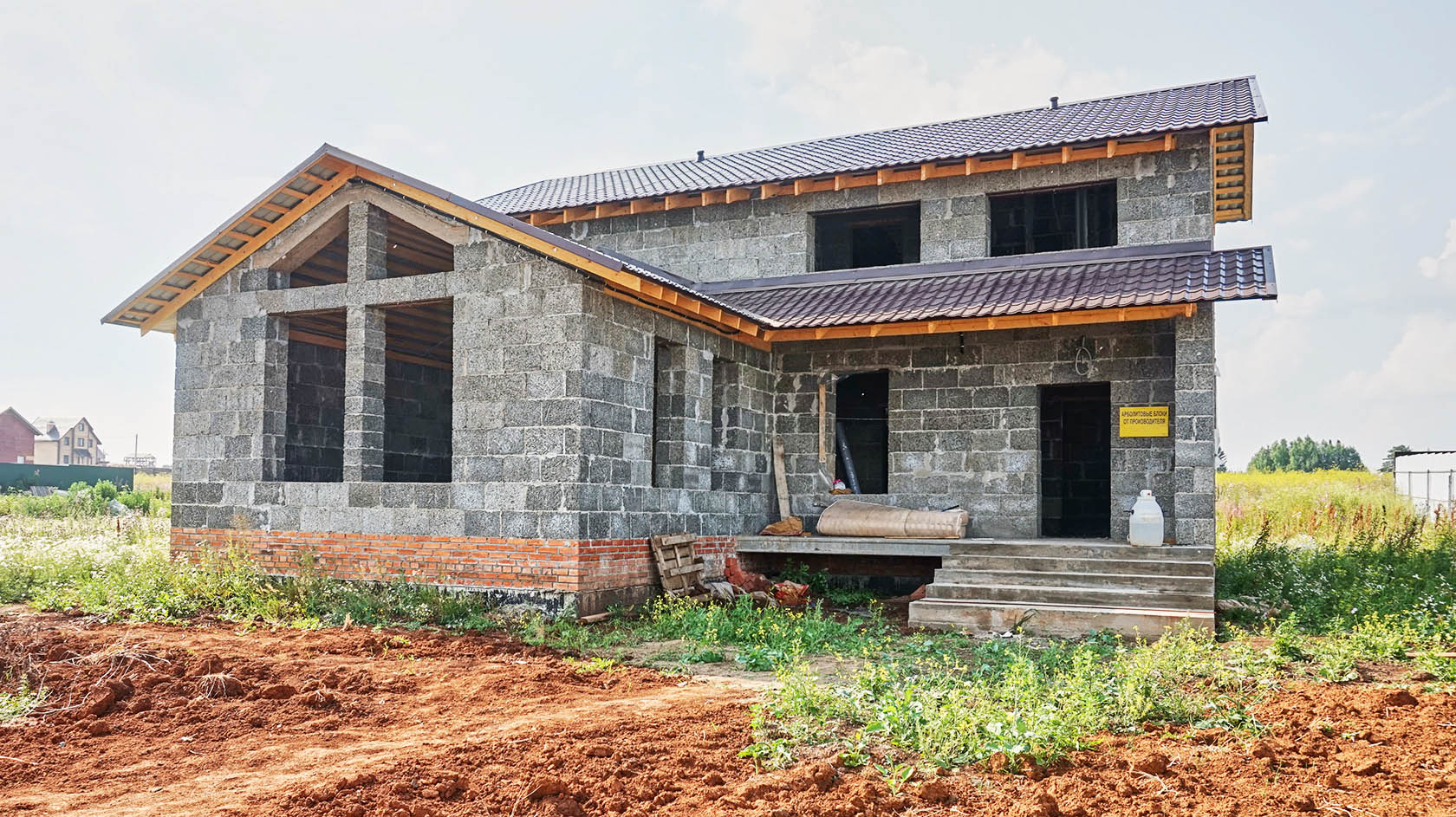 дома из арболита проекты